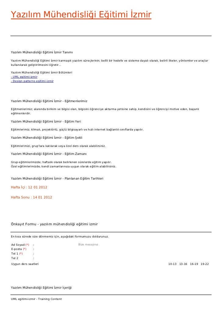 Yazılım Mühendisliği Eğitimi İzmirYazılım Mühendisliği Eğitimi İzmir TanımıYazılım Mühendisliği Eğitimi İzmir karmaşık yaz...