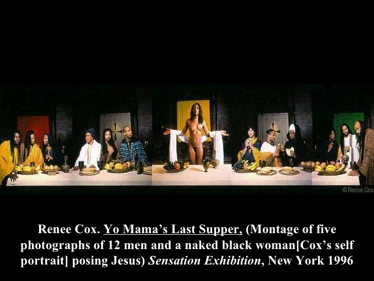 Image result for The Last Supper by Renee Cox
