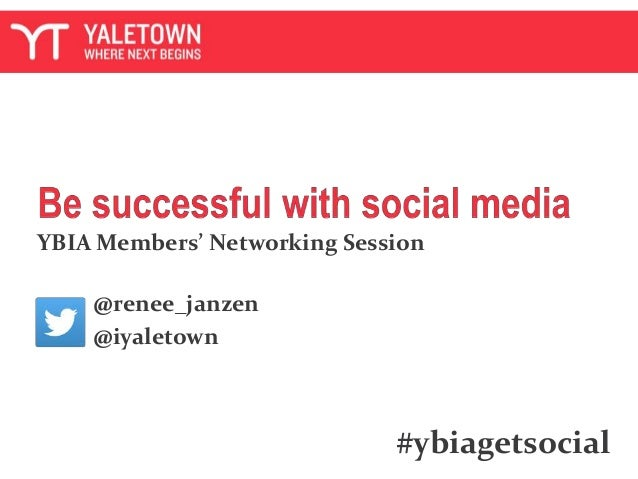 YBIA Members' Networking Session @renee_janzen @iyaletown #ybiagetsocial