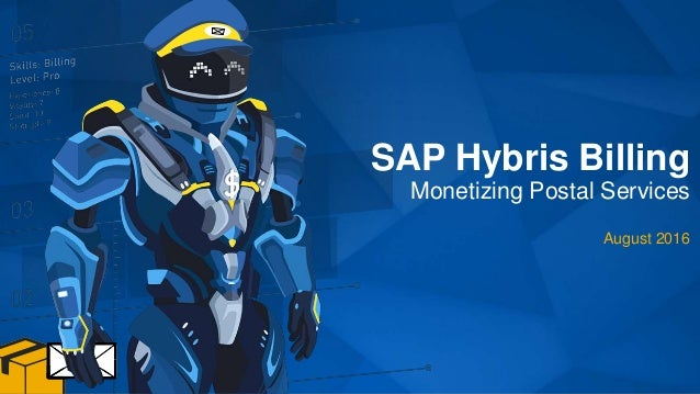 SAP Hybris Billing Monetizing Postal Services August 2016