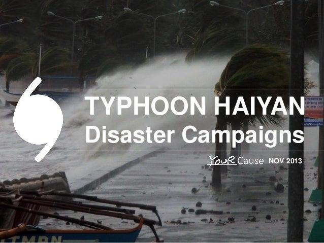 typhoon haiyan case study slideshare