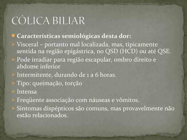 De todas as complicações de cálculos biliares, esta é a que mata mais rápido. Devido colonização dos ductos biliares por...