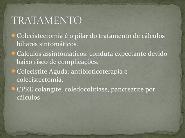 Síndromes de vias biliares
