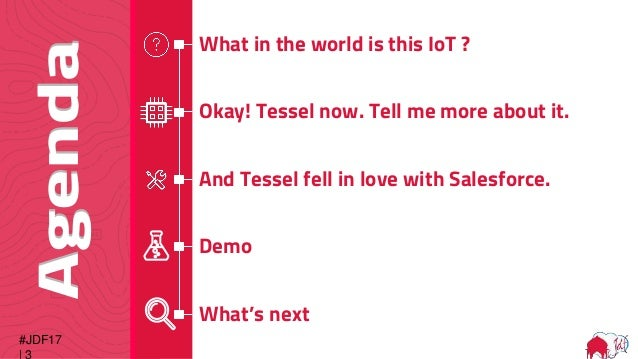 IoT: Build an employee check-in system with Tessel and Salesforce Slide 3