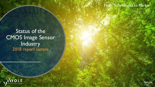 Status of the CMOS Image Sensor Industry 2018