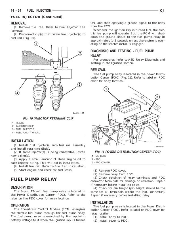 jeep liberty 2002 2005 fuel system rh slideshare net 3.8 Liter Chrysler Engine 2009 Chrysler Town and Country Engine Diagram