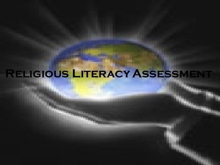 CREATION By Sebastien  Religious Literacy   Assessment