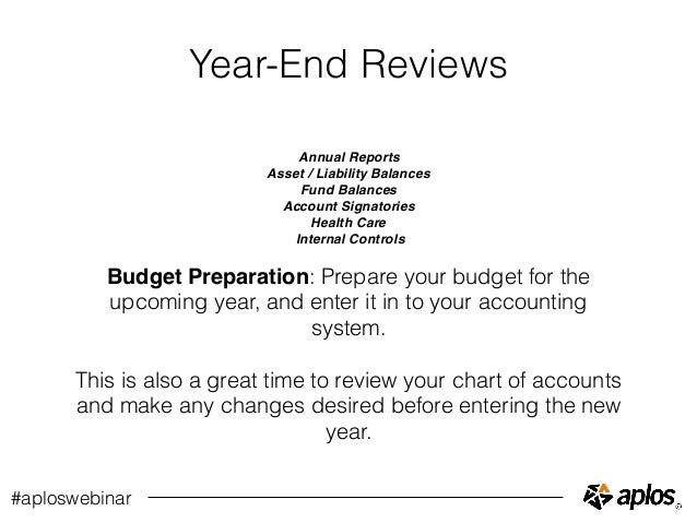 Year-End Accounting Closing Procedures for Churches and