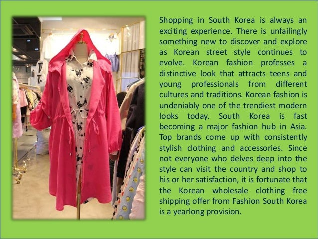 Year round korean wholesale clothing free shipping offer from wholesa…