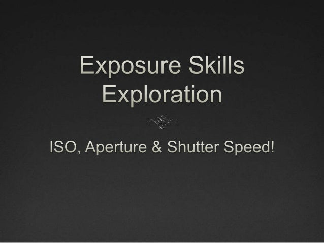 What is ISO? • ISO is the measurement of how sensitive a digital camera's sensor is to light. • The higher the ISO, the mo...