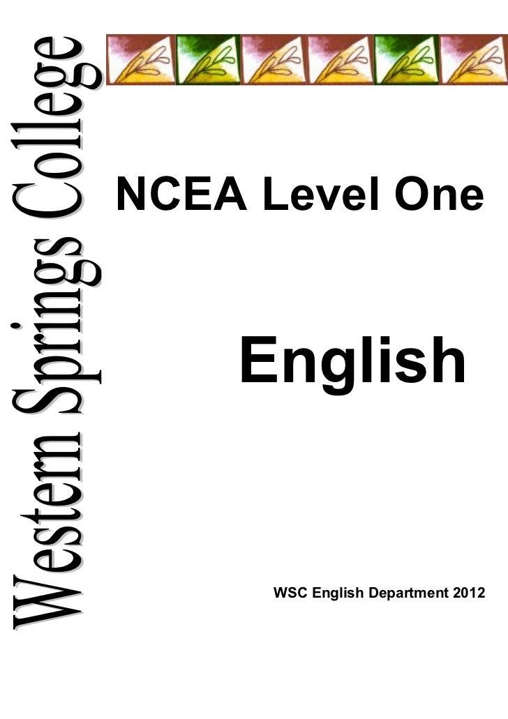 Year 11 coursebook 2012