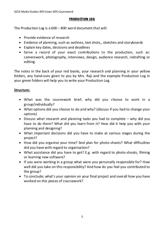 How to write a coursework evaluation research