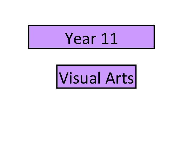 Year 11 Visual Arts
