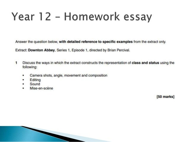Year   Homework Essay  Living A Healthy Lifestyle Essay also Essay On English Language  Into The Wild Essay Thesis