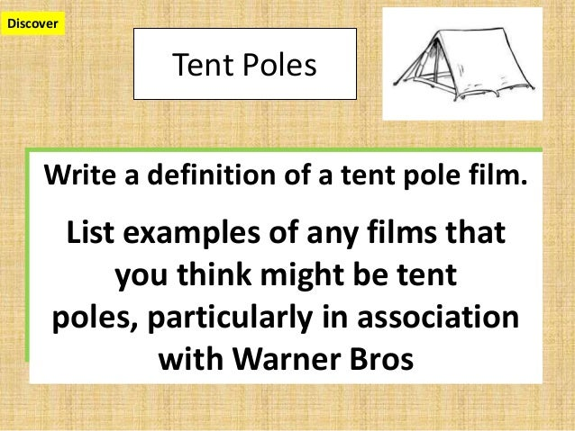 3. Discover Tent Poles Film ...  sc 1 st  SlideShare & Year 12 tent pole and quadrant marketing