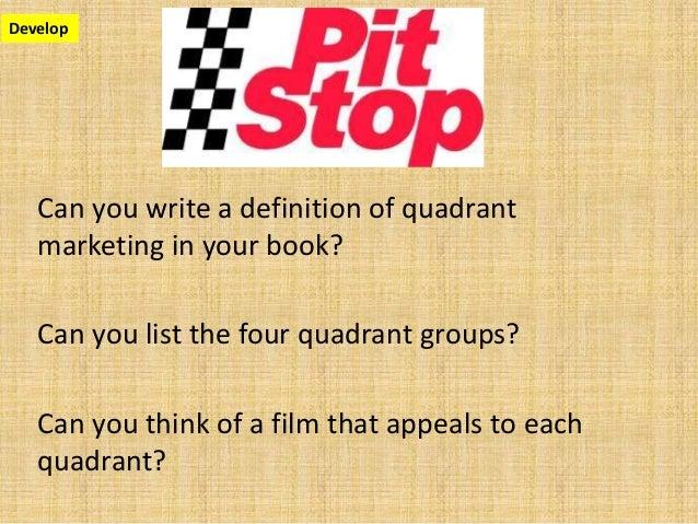 Develop; 7.  sc 1 st  SlideShare & tent pole and quadrant marketing