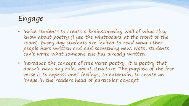 Poetry Writing: Forms and Terms Galore
