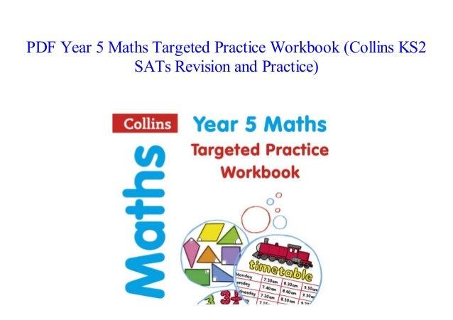 Pdf Book Year 5 Maths Targeted Practice Workbook Collins Ks2 Sats Re