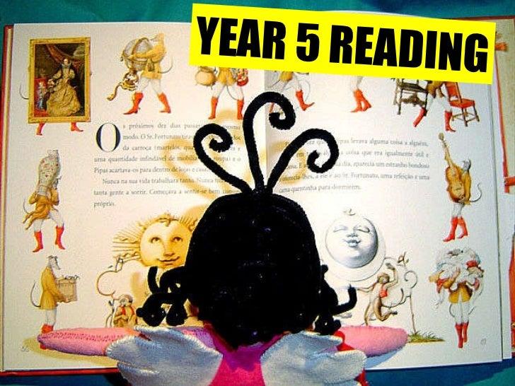 YEAR 5 READING