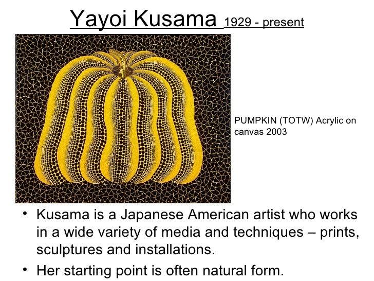 Yayoi Kusama 1929 - present                                 PUMPKIN (TOTW) Acrylic on                                 canv...