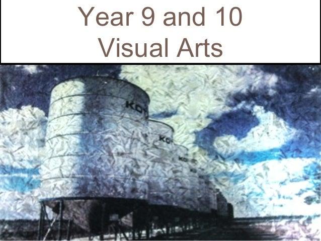 Year 9 and 10 Visual Arts