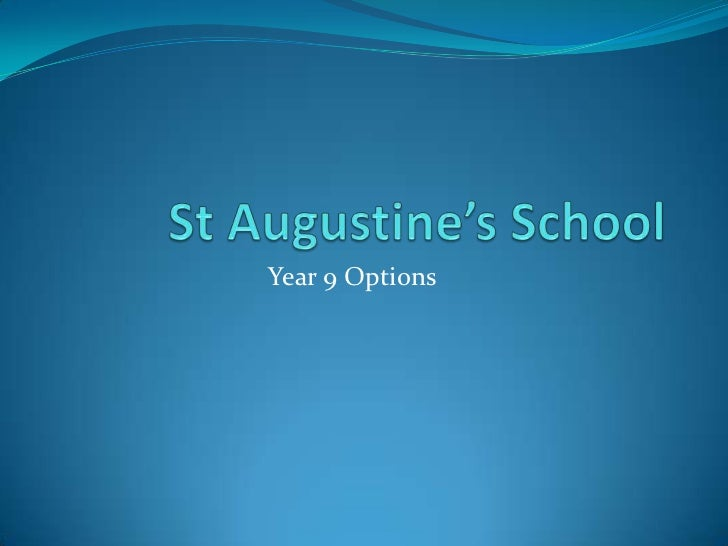 Year 9 Options