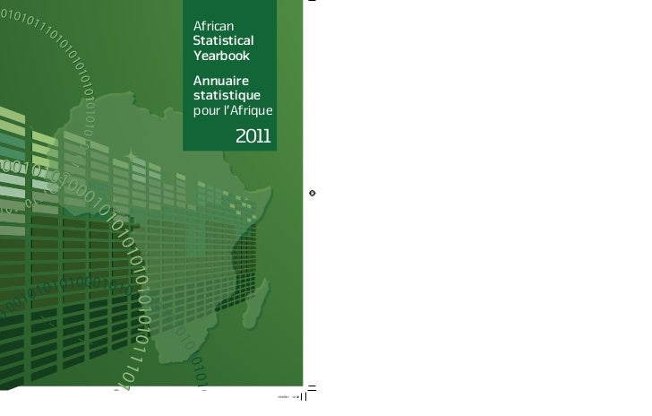 AfricanStatisticalYearbookAnnuairestatistiquepour l'Afrique       2011