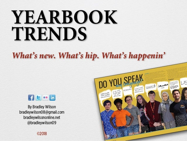 Yearbook trends su2018