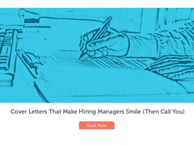 Cover Letters ...
