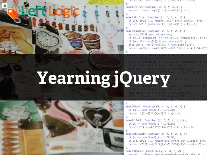 Yearning jQuery