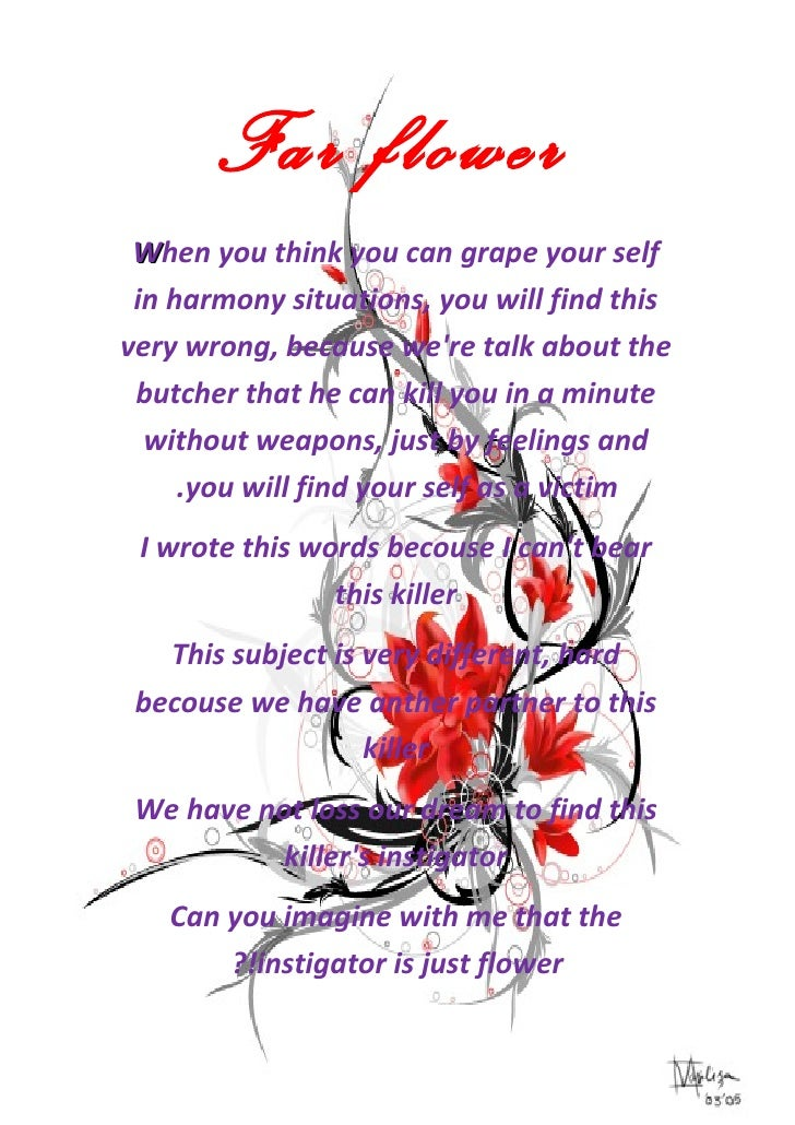 Far flower When you think you can grape your self in harmony situations, you will find thisvery wrong, because were talk a...