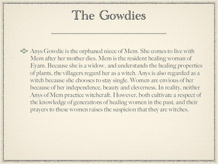 Mem Gowdie Character Profile Essay img-1