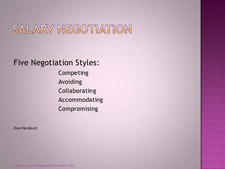 how to bring up salary negotiation