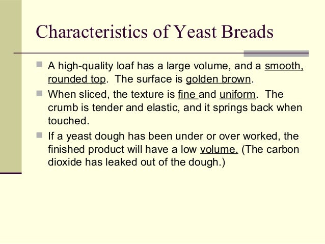 Yeast Breads Ppt