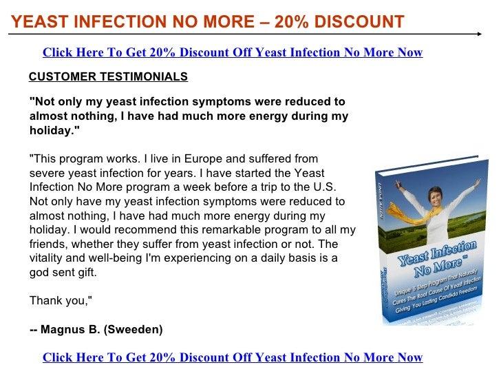 <ul><li>The proven 5 step multi-dimensional Yeast Infection No more Anti Candida Success System  </li></ul><ul><li>The sho...