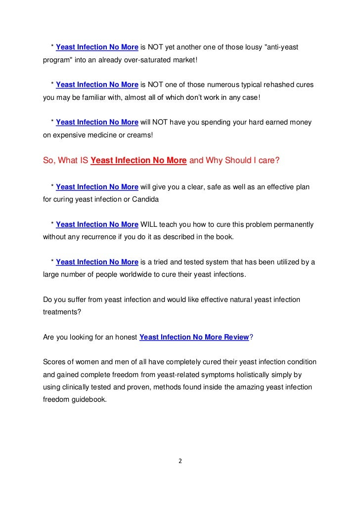 Yeast Infection No More Ebook - download.cnet.com