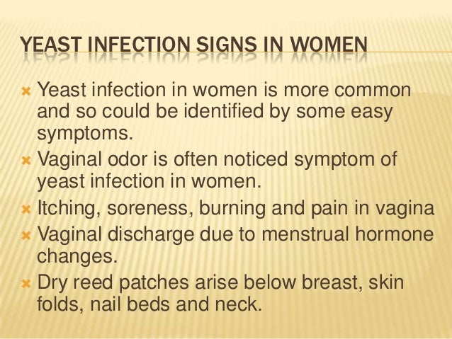 Yeast Infection In Women