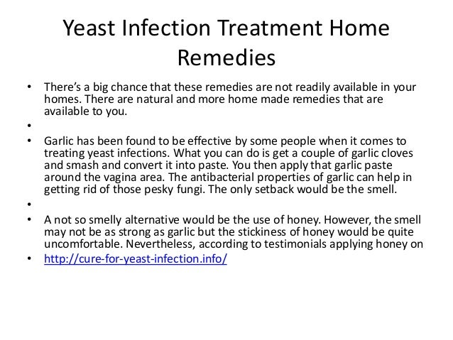 How To Naturally Cure A Yeast Infection At Home