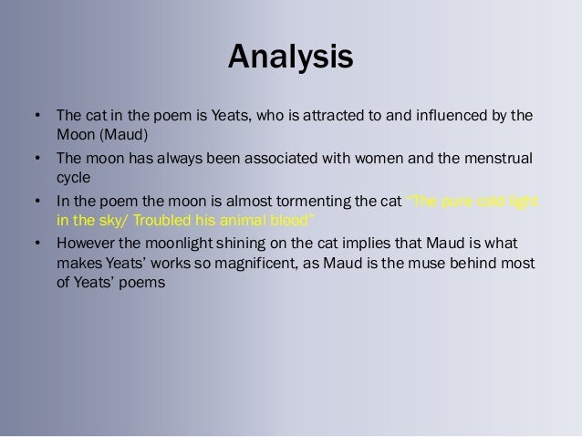 an analysis of the poem