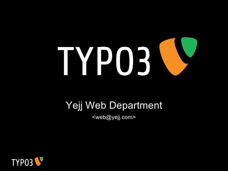 Yejj Web Department <web@yejj.com>