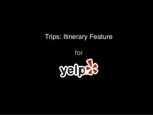 Trips: Itinerary Feature for for