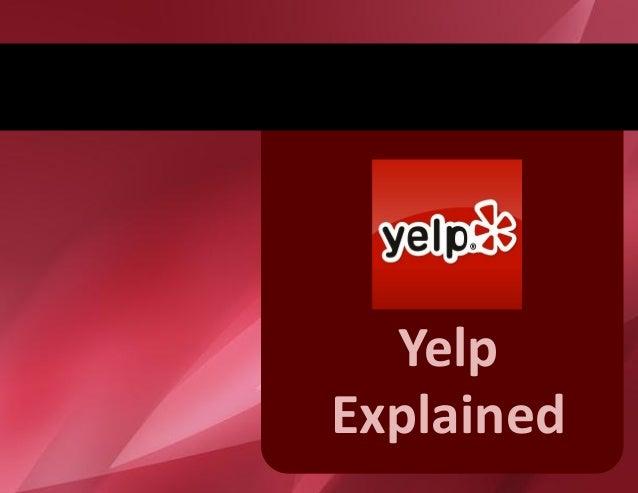 YelpExplained