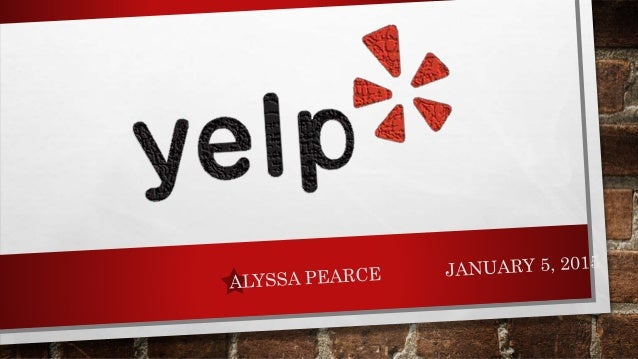 Yelp Presentation