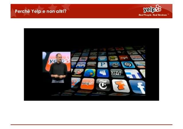 Yelp mobile il sito che diventa una app for Sito mobili online