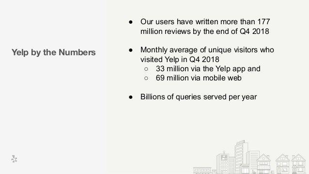 Haystack 2019 - Evolution of Yelp search to a generalized ranking platform - Umesh Dangat Slide 3