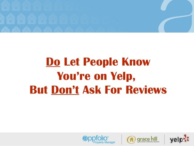 How To Use Yelp com To Your Advantage
