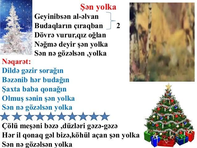 Yeni Il Mahnilar Sozləri Və Uzərində Mahnilar