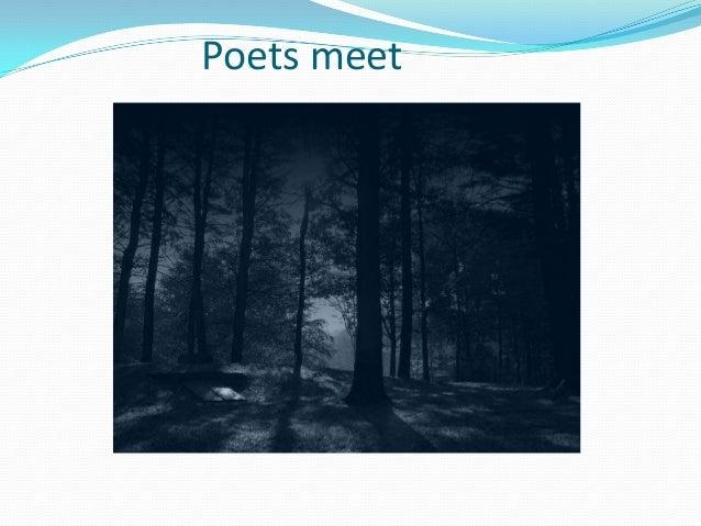 Poets meet