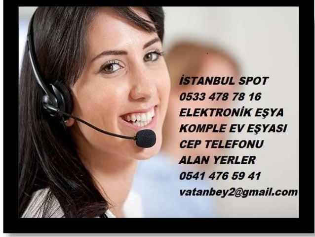 Elektronik eşya alan yerler 0533 478 78 16