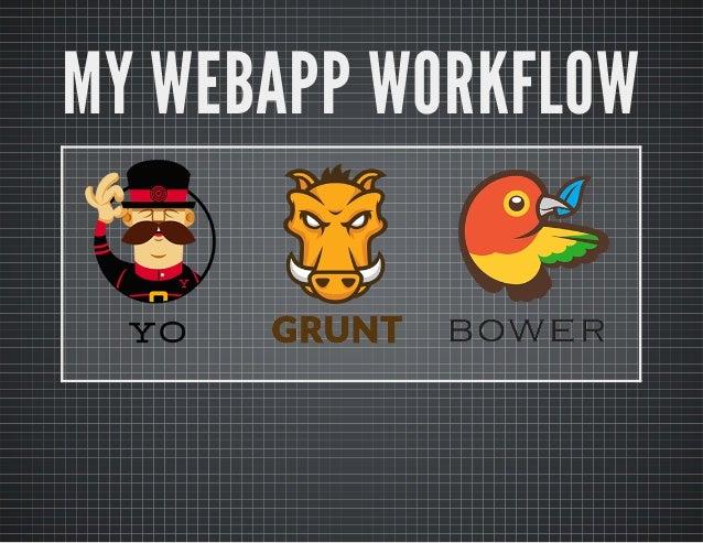 MY WEBAPP WORKFLOW